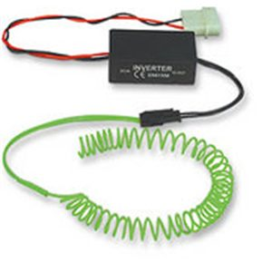 Manhattan 5 ft. Electro-Luminescent cable Green