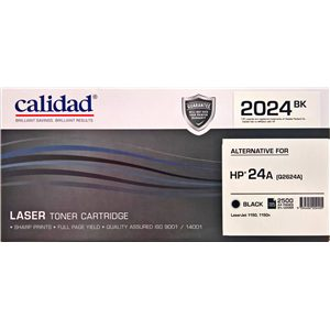 Calidad 2024-BK Black Toner alternative for HP 24A (Q2624A)