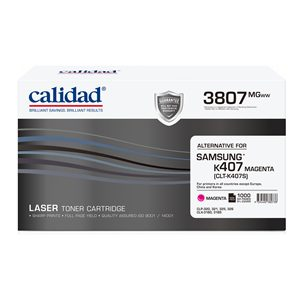 Calidad 3807-MGWW Magenta Toner alternative for SAMSUNG K407