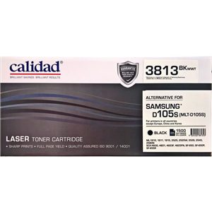 Calidad 3813-BKWW-T Black Toner alternative for SAMSUNG D105S