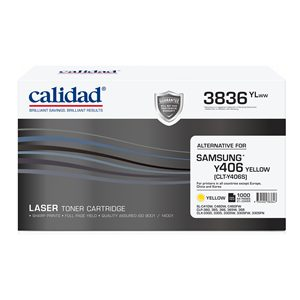 Calidad 3836-YLWW Yellow Toner alternative for SAMSUNG MLTK406S