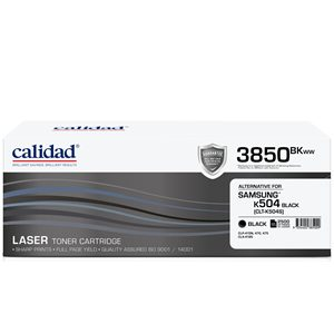 Calidad 3850-BKWW Black Toner alternative for SAMSUNG ML4550 / ML4550 / CLTK504S