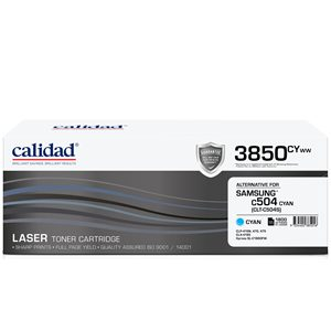 Calidad 3850-CYWW Cyan Toner alternative for SAMSUNG ML4550 / ML4550 / CLTK504S