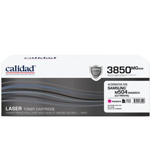 Calidad 3850-MGWW Magenta Toner alternative for SAMSUNG ML4550 / ML4550 / CLTK504S
