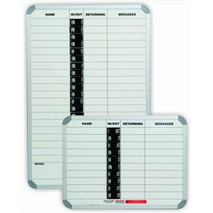 In/Out Board Magnetic 10 People (600*450mm)
