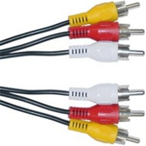 3RCA (M) TO 3RCA (M)   5.0M