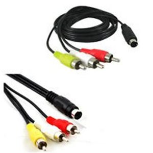 3RCA (M) TO S-VIDEO (M) 1.8M