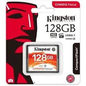 Kingston CFF/128GB 128GB Canvas Focus Compact