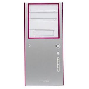 Antec front panel with Pink highlight for