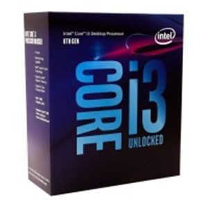 Intel Coffeelake-s lga1151 i3-8350K - 4 cores / 4 thread