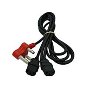 Dedicated 2 Way IEC Power Cable
