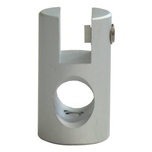 Signage Rod System Material Clamp (Single)
