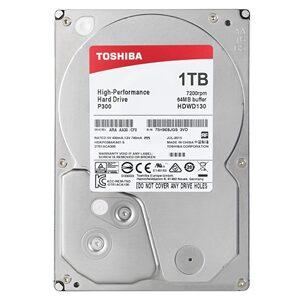 "Toshiba P300 1TB 7200RPM 3.5"" SATA Desktop PC Hard Drive (Bulk)"