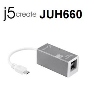 J5 create JUH660 android 2x port hub