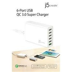 J5 create JUP60 QC3.0 super charger