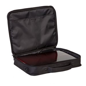 BUSINESS EXEC ESSENTIAL CLAMSHELL FITS NOTEBOOKS UP
