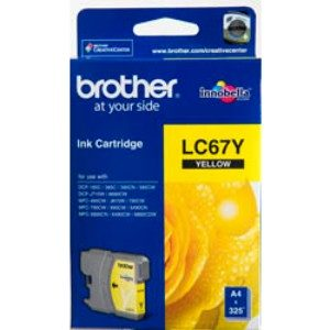 BROTHER LC67Y YELLOW