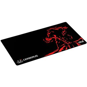Asus Cerberus XXL black+red gaming mouse pad
