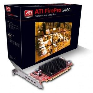 AMD Firepro 2460 - for professional 2D commerical