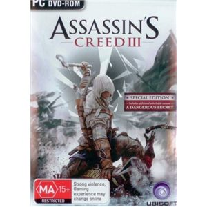Assassins Creed 3 - special edition with additional u