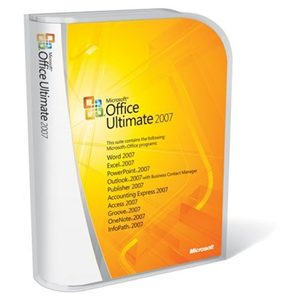 Microsoft Office Ultimate 2007 Upgrade