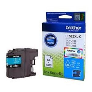 BROTHER INK CARTRIDGE LC535XL H/YIELD CYAN