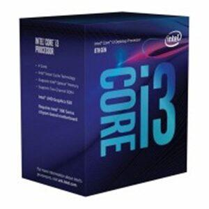 Intel Coffeelake-s lga1151 i3-8100 4 cores
