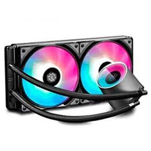 DC CASTLE 280RGB 2*140 CPU LIQUID COOLER