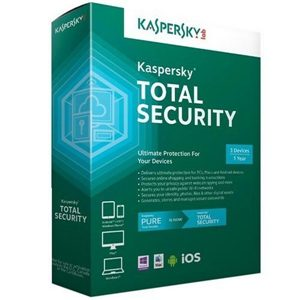 Kaspersky Total Security - 3 users - for PC+Mobile -