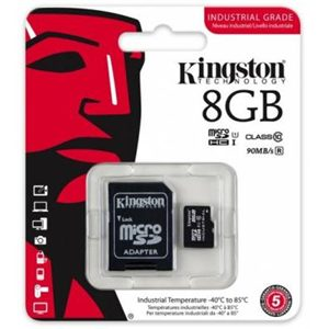 Kingston 8GB miCro SDHC with SD adapter