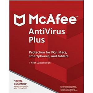 Intel Macfee Antivirus Plus