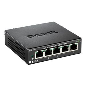 D-Link DES-105 - 5 port 10/100 un-managed switch