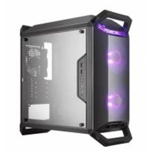 Coolermaster Masterbox Q300P Micro ATX Desktop Chassis Black with Side Window
