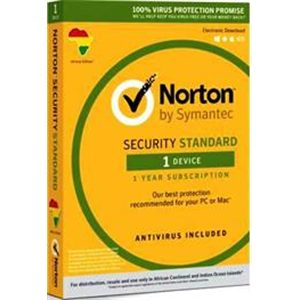 Norton Security Standard For PC/Mac - 1 Device User