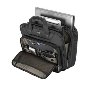 "TARGUSCorporate Traveller 13-14"" Topload Laptop Case - Black"