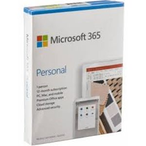 Microsoft 365 Personal 1 Year Subscription - Fully Packaged Product - for user 1