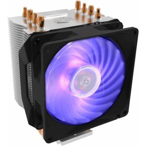 Coolermaster Hyper H410R RGB air cooler with LED PWM fan