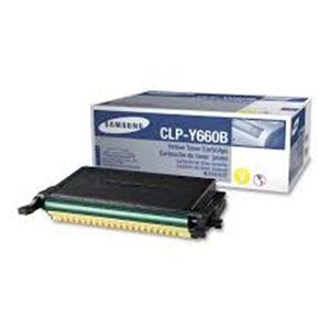 Original Samsung Y660B | CLP-Y660B Yellow Toner Cartridge